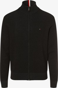 Sweter Tommy Hilfiger w stylu casual z bawełny ze stójką