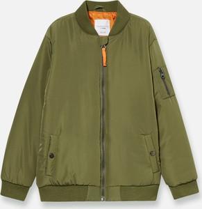 Zielona kurtka dziecięca Sinsay