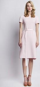 Sukienka Lanti z krótkim rękawem midi