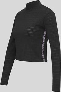 Czarny t-shirt CLOCKHOUSE