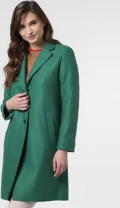 Zielony płaszcz Marc O'Polo z wełny