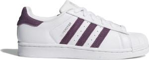 Trampki Adidas niskie z płaską podeszwą sznurowane