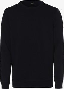Granatowa bluza Hugo Boss z bawełny