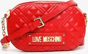 Czerwona torebka Love Moschino na ramię mała