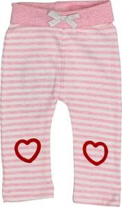 Różowe legginsy dziecięce Salt & Pepper dla dziewczynek