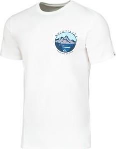 T-shirt Quiksilver z nadrukiem