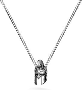 GIORRE Naszyjnik chełm SPARTAN srebro 925 : Długość (cm) - 60, Kolor pokrycia srebra - Pokrycie Czarnym Rodem