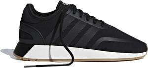 Czarne buty sportowe Adidas z płaską podeszwą