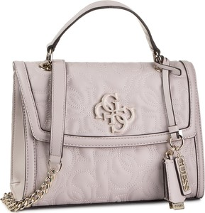 Różowa torebka Guess średnia