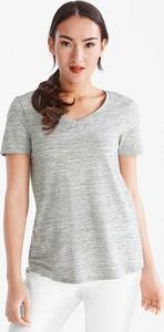T-shirt YESSICA z bawełny w stylu casual