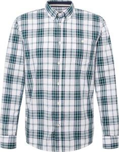 Koszula Tom Tailor z klasycznym kołnierzykiem z bawełny