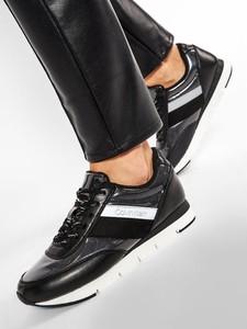 Czarne buty sportowe Calvin Klein sznurowane