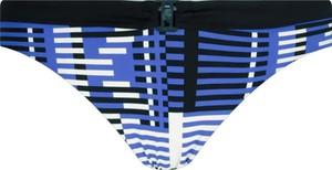 Niebieski strój kąpielowy Karl Lagerfeld z nadrukiem