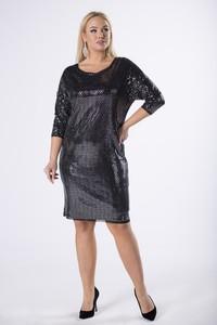 Czarna sukienka Ptakmoda.com