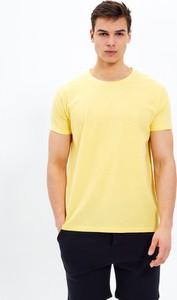 T-shirt Gate z krótkim rękawem z dżerseju