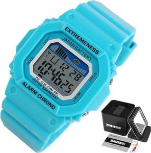Zegarek damski SKMEI 6918 LED sportowy BŁĘKITNY