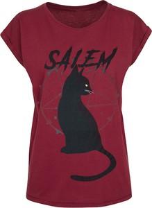 T-shirt Chilling Adventures Of Sabrina z okrągłym dekoltem z nadrukiem z bawełny