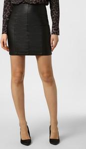 Czarna spódnica Aygill`s mini w rockowym stylu