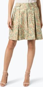 Zielona spódnica Ipuri mini z nadrukiem w stylu casual
