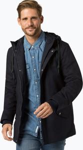 Niebieska kurtka Review w stylu casual