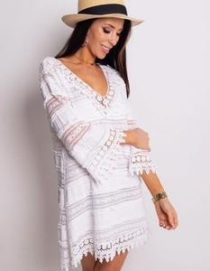 Sukienka Dstreet z długim rękawem mini w stylu casual