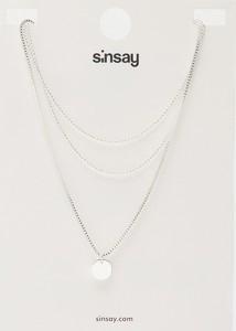 Sinsay - Naszyjnik - Srebrny