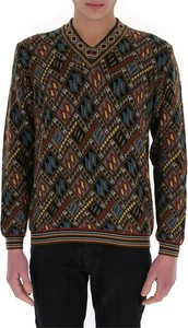 Sweter Etro w geometryczne wzory