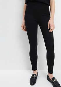 Czarne legginsy Mohito w stylu casual