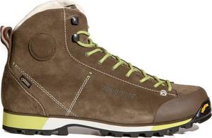 Buty trekkingowe Dolomite z zamszu w sportowym stylu sznurowane