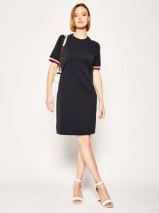 Sukienka Tommy Hilfiger mini prosta w stylu casual