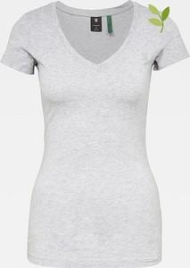 T-shirt G-star z okrągłym dekoltem w stylu casual