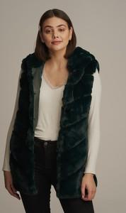Czarna kamizelka JK Collection długa w stylu casual