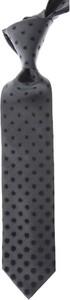 Krawat Lanvin z jedwabiu