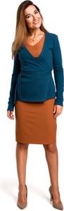 Sweter MOE z bawełny w stylu casual