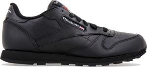 Buty sportowe Reebok z płaską podeszwą sznurowane ze skóry