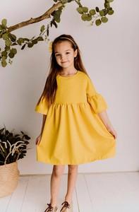 Sukienka dziewczęca Lily Grey z bawełny