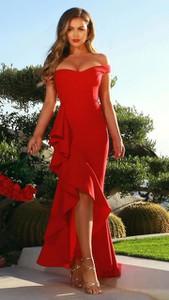 Sukienka noshame hiszpanka z krótkim rękawem z odkrytymi ramionami