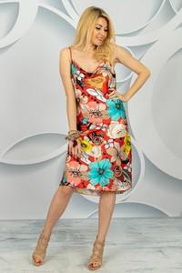 Sukienka Made in Italy prosta w stylu casual midi