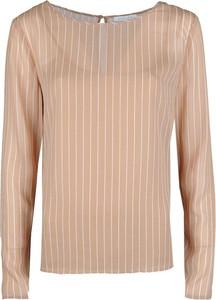 Bluzka Patrizia Pepe z tkaniny z długim rękawem