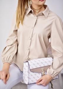 Koszula Fason z jedwabiu z długim rękawem