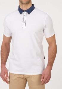 Koszulka polo Lanieri z tkaniny