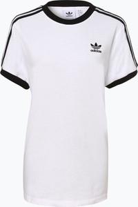 T-shirt Adidas Originals z krótkim rękawem w młodzieżowym stylu z nadrukiem