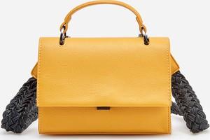 Żółta torebka Reserved na ramię