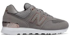 Buty New Balance z płaską podeszwą sznurowane