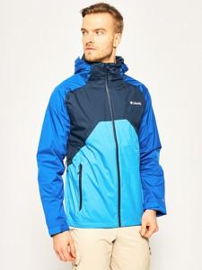 Niebieska kurtka Columbia w sportowym stylu