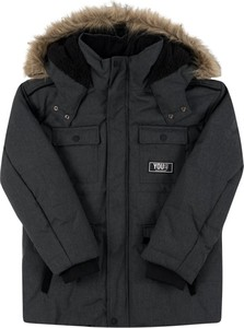 Czarna kurtka dziecięca Mayoral