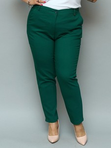 Spodnie KARKO z tkaniny w stylu klasycznym