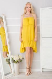 Żółta sukienka made2wear