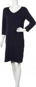 Granatowa sukienka STREET ONE w stylu casual