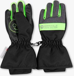 Czarne rękawiczki Rodeo